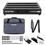 Ghost Fire Guitar Pedal Board Aluminum Alloy 2.75lb Effect Pedalboard 16.9'x12' with Carry Bag,V series (V-STANDARD 1.0)