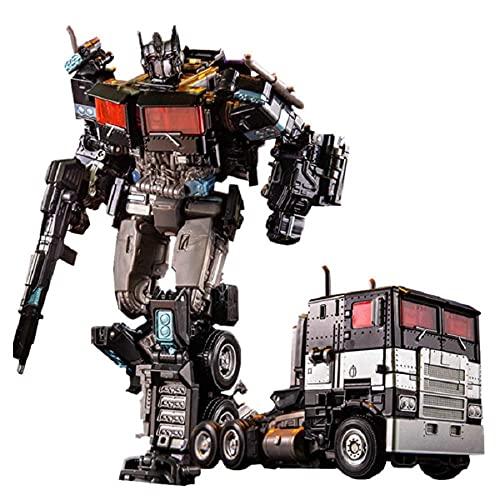LUSTAR Transformers Toy Hero Optimus Pilares Personas Activas - Ser Juguetes Truck -18cm / 7 Ph ABS + Aleación
