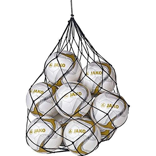 JAKO Herren Fußball Ballnetz, Schwarz