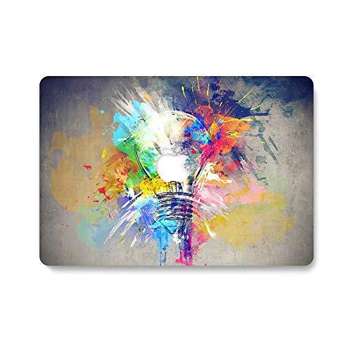 MacBook Pro 13 Case, AQYLQ MacBook Pro 13 inch Creative Pattern Plastic Hard Shell Case Cover for 13-Inch MacBook Pro 13.3'with CD Drive[Non-Retina] (Model: A1278) - Colorful Bulb