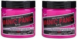 【2個セット】MANIC PANIC マニックパニック Cotton Candy Pink コットン・キャンディー・ピンク 118ml