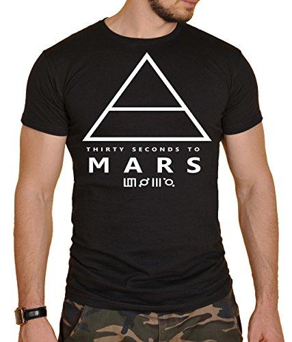 30 Seconds to Mars Herren T-Shirt Schwarz schwarz Gr. S, schwarz