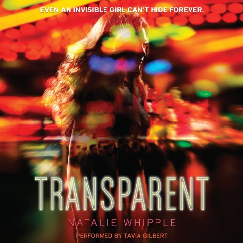 Transparent audiobook cover art