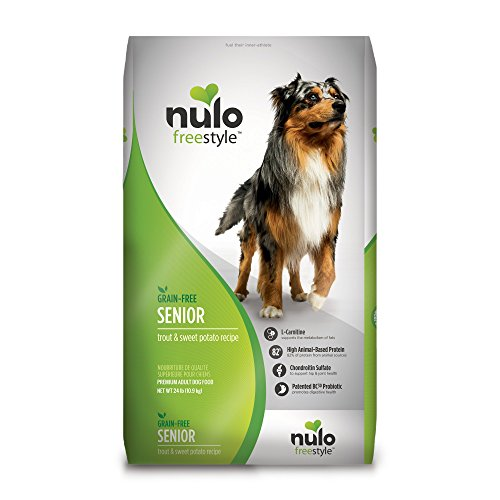 Nulo Grain Free Senior Dog Food With...