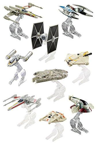 Hot Wheels - Star Wars - Starship - 1 Vaisseau Miniature - Modèle Aléatoire