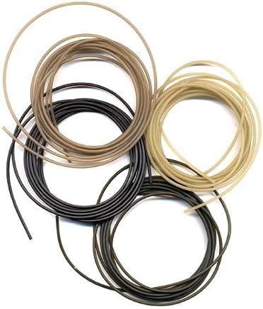 6 METRES SINKING ANTI-TANGLE brown  RIG  TUBING 1.5 mm diameter  CARP RIGS