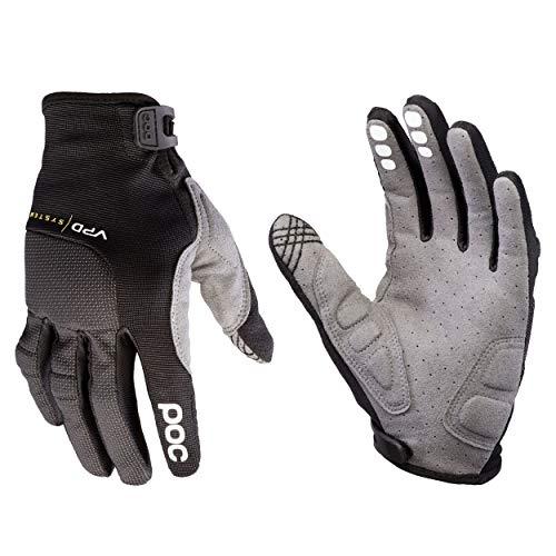 POC Resistance Handschuhe, Unisex, Erwachsene L Schwarz (Uranium Black)