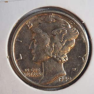 1940 D Mercury Dime Silver Dimes Ungraded