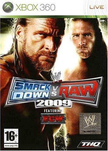 WWE Smackdown vs Raw 2009 [importación francesa]