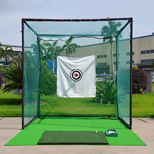 jxgzyy 9.8 x 9.8ft Golf Barrier Net,Golf Ball Hitting Netting for Indoor Outdoor Golf Sports.