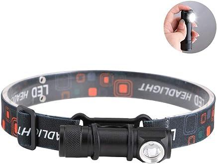 DaQingYuntur Headlights, Flashlight 2 in one, Three Light Modes, Magnet Base Design, Easy to use, Running Camping Fishing Multi-Function Lighting