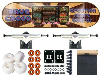 Creation Dave cabbo Boom Box completo Skateboard 7.625