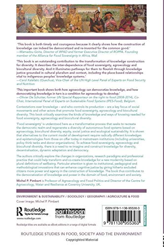 Food Sovereignty, Agroecology and Biocultural Diversity (Routledge Studies in Food, Society and the Environment)