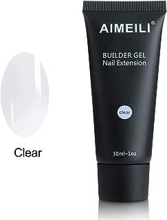 AIMEILI Clear Quick Builder Gel 30ml 1oz Nail Enhancement Nail Extension Tool