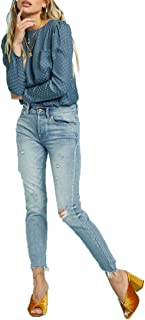 Nico High Rise Mom Fit Pant - Bluegrass