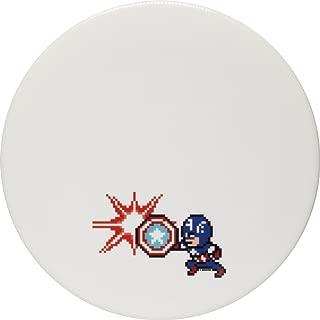 Dynamic Discs Marvel DyeMax Captain America 8-Bit Fuzion EMAC Truth Midrange Golf Disc