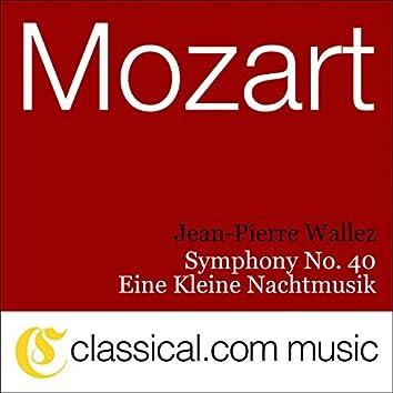 Wolfgang Amadeus Mozart, Symphony No. 40 In G Minor, K. 550