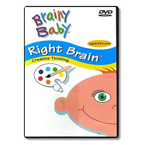 Brainy Baby Right Brain Infant Learning DVD: Creative Thinking Infant Brain Development Classic Edition