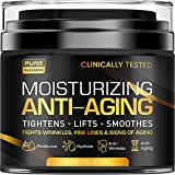 Men's Face Cream Moisturizer - Anti-Aging Cream For Men, Collagen, Retinol & Hyaluronic Acid - Day & Night - Made in USA - Anti Wrinkle 1.7 oz