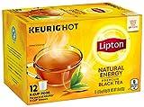Lipton K-Cups for Keurig Brewers Natural Energy Black Tea 100% Rainforest Alliance Certified 12...