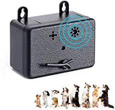 Ultrasonic Anti Barking Device, 2020 Upgraded Dog Bark Control Bark Stopper for Outdoor - 50 Feet Effective, Pet & Human Safe Dog Silencer No Bark Tool for Small/Medium/Large Dogs