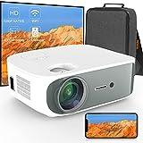 TECDIGBO C55 Mini Beamer 4K 5G Bluetooth-Projektor ±50° 4D Keystone-Korrektur Nativer 1080P Full HD Outdoor-Filmprojektor für Smartphone/Laptop/PC/DVD/TV/PS4
