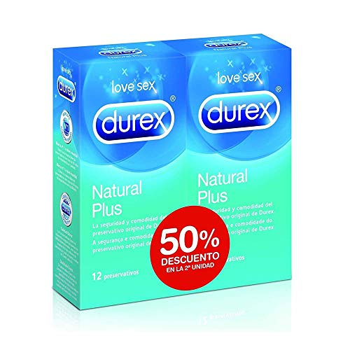 Durex Love Sex Natural Plus - 24 unidades