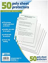Best bulk plastic sheet protectors Reviews