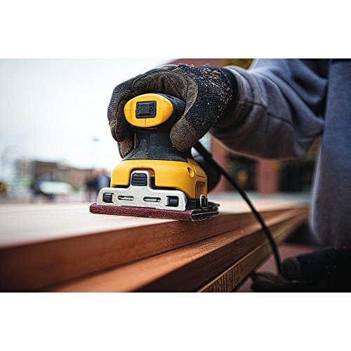 DEWALT Palm Sander, 1/4 Sheet (DWE6411K)