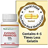 NutrastanXP Evening Primrose Oil Extra Virgin Cold Pressed, 500 mg - 60 Capsules