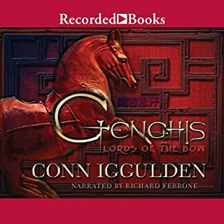 Genghis Lords of The Bow audiobook cover art