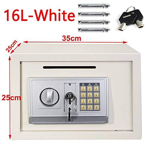 Electronic Password Digital Safety Box Cash Safe Key Lock...