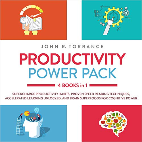 『Productivity Power Pack: 4 Books in 1』のカバーアート