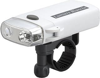 スマイルキッズ(SMILE KIDS) 2LED スリムサイクルライト 【実用点灯約26時間】 ホワイト AHA-4305