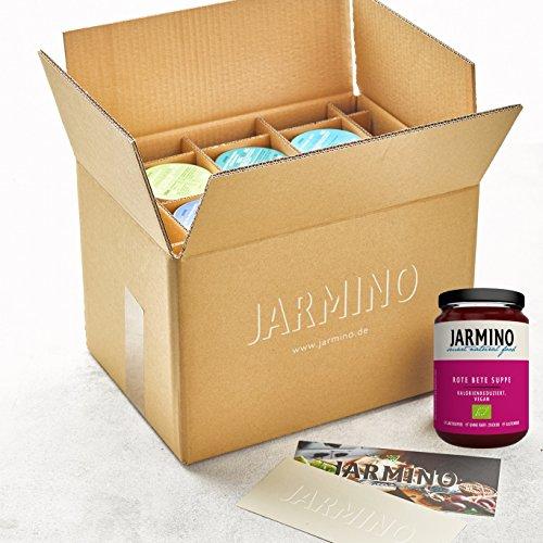 JARMINO Suppenkur | 6 x 350ml leckere BIO Suppe für 1 Tag Diät | Saftkur Alternative