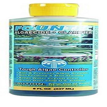EasyCare FounTec Algaecide and Clarifier 8 oz Bottle
