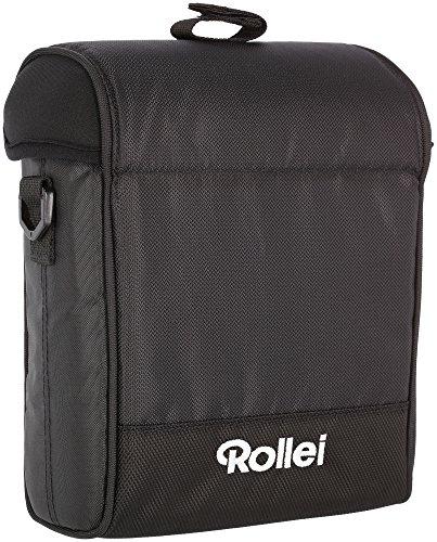 Rollei Rechteckfilter Tasche 150 mm - Gepolsterte Nylontasche für Rechteckfilter, sicherer Transport, schnell Griffbereit, inkl. Klettverschluss und Schultergurt - schwarz