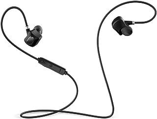 TOSANG ワイヤレス Bluetooth イヤホン イヤホック 滑る防止 防水 マグネット ステレオ 保護パネル付き マイク付き 約7時間連続通話時間 音楽再生サポート iPhone&iPad TPE麺線 高音質