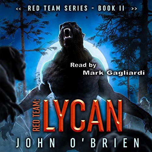 Red Team: Lycan audiobook cover art
