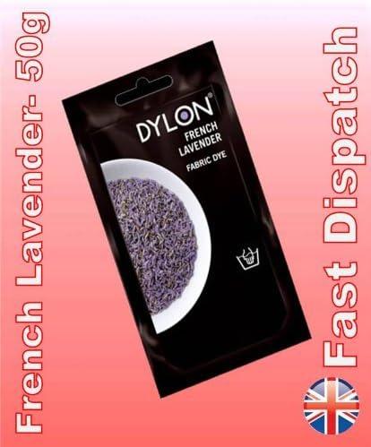 Dylon - Tinte para Tela, Color Violeta Intenso, 50 g