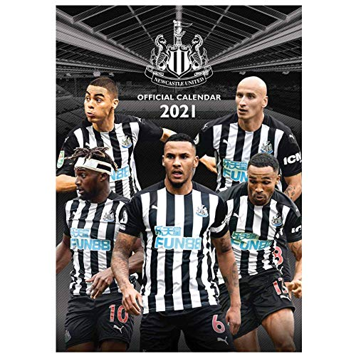 Newcastle United Official 2021 Soccer Calendar (A3 420mm x 297mm)