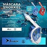 Amiaire - Nemrod .Mascara de Snorkel,180º Visión Panorámica...