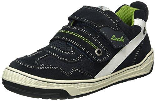 Lurchi Bruce Low-Top Zapatillas Deportivas niño, Color Multicolor, Talla 28