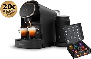 comprar comparacion Philips L'OR Barista LM8018/90 Cafetera de Cápsulas con Espumador de Leche, Compatible con Cápsula Individual y Cápsula Do...