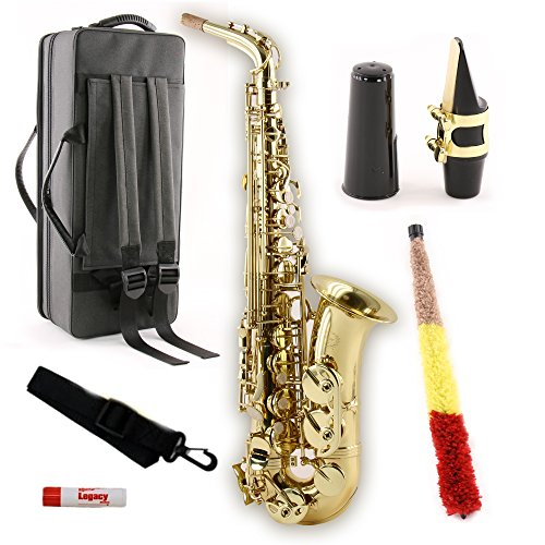 Legacy AS750 Student/Intermediate Alto Saxophone