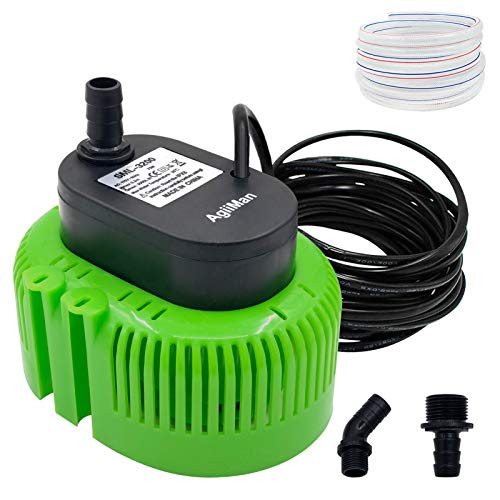 Best pool cover pump - Pool Cover Pump above Ground - Submersible Water Sump Pump Swimming Water Removal Pumps, with Drainage Hose & 25 Feet Extra Long Power Cord, 850 GPH inGround, 3 Adapters