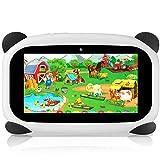 HANYEAL Tablet per Bambini, con WiFi Bluetooth Tablet da 7 pollici 1024x600 per Bambini Android 9.0 Quad-Core 2 GB di RAM + 32 GB di ROM Tablet Anti-goccia per Bambini, adatto per Bambini(Panda)