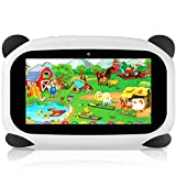 HANYEAL Tablet PC para niños a Prueba de Agua de 7 Pulgadas-HANYEAL, WiFi / Bluetooth / 1024x600 / Android 9.0 / Quad Core / 2GB RAM + 32GB ROM / (Panda)