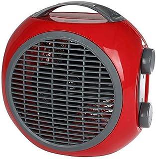 Mini Calefactor 2 Niveles de Calor Calentador Ventilador Elektroheizer Calefacción Eléctrica, Colores: Gris (Rojo)
