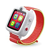 TickTalk 3 Unlocked 4G LTE Universal Kids Smart Watch Phone with GPS Tracker, Combines Video, Voice and Wi-Fi Calling, Messaging, Camera, IP67 Water Resistant & SOS